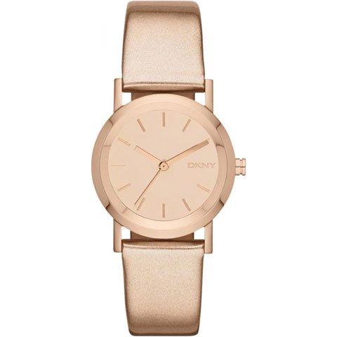 DKNY 腕時計 レディース NY8859 レキシントン ローズゴールドレザーベルト