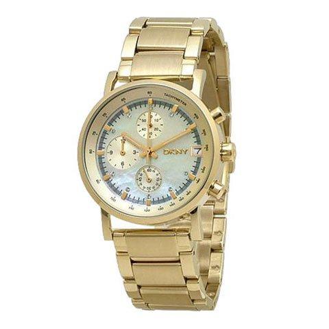 DKNY 腕時計 レディース NY4332 レキシントン マザーオブパール×ゴールド