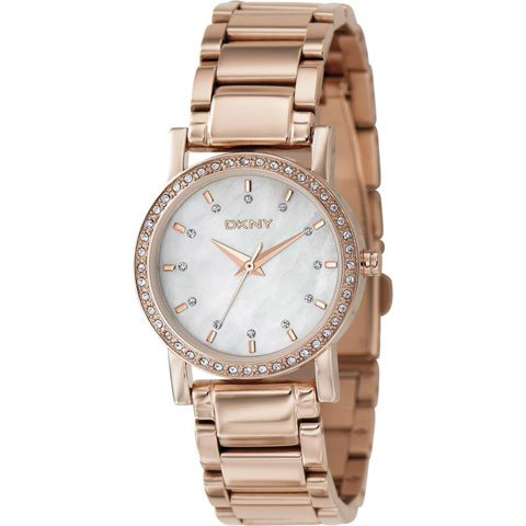 DKNY 腕時計 NY8121 レキシントン ローズゴールド