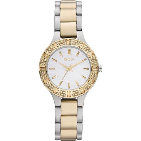 DKNY 腕時計 レディース NY8742 サーシャ マザーオブパール×ゴールド
