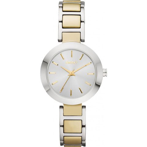 DKNY 腕時計 レディース NY8747 サーシャ マザーオブパール×ゴールド