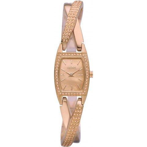 DKNY 腕時計 レディース クロスオーバー NY8595 ローズゴールド