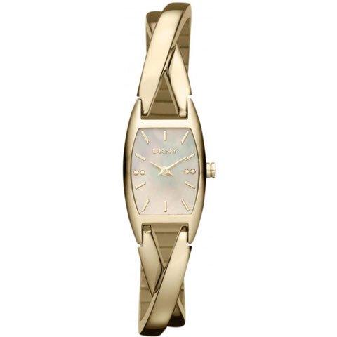 DKNY 腕時計 レディース クロスオーバー NY8680 ゴールド