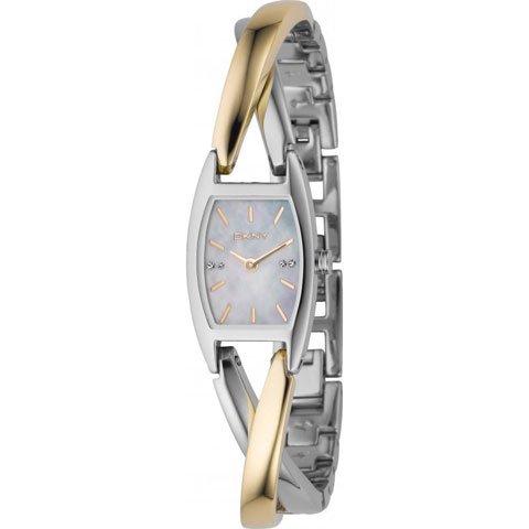DKNY 腕時計 レディース クロスオーバー NY4634 シルバー×ゴールド