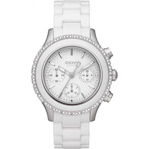 DKNY 腕時計 レディース NY8672 ブルックリン ホワイトセラミック