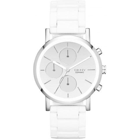 DKNY 腕時計 レディース NY8896 レキシントン ホワイトセラミック