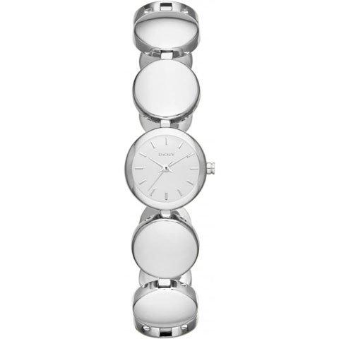 DKNY 腕時計 NY8866 ラウンドアバウト シルバー