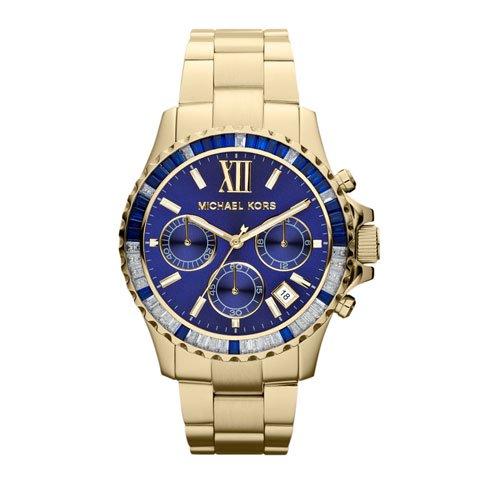 マイケルコース 時計 レディース エベレスト MK5754 ネイビー×ゴールド
