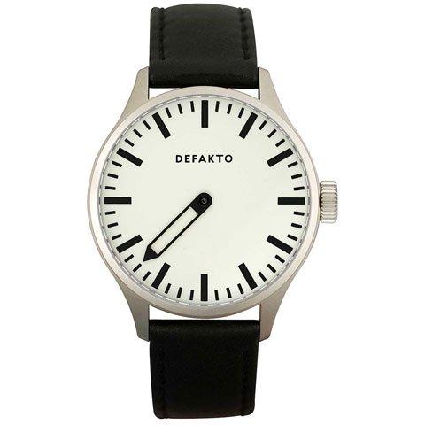 Defakto (ディファクト) 腕時計 アインズ 自動巻き ホワイト