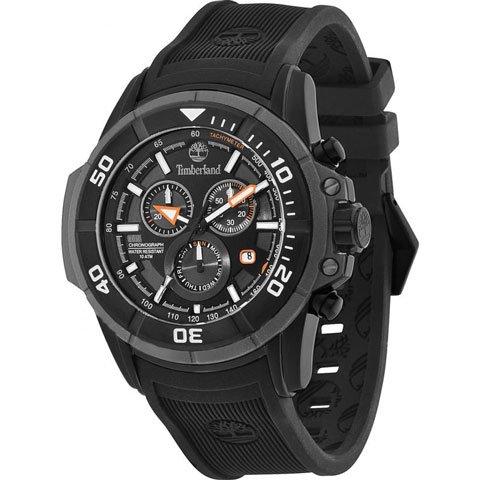 ティンバーランド 腕時計 フランケン 13671JSB/02 ブラック×ブラックシリコンベルト