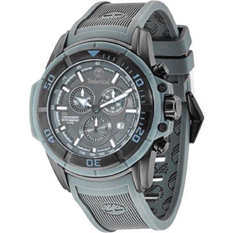 ティンバーランド 腕時計 フランケン 13671JSB/61 グレー×グレーシリコンベルト