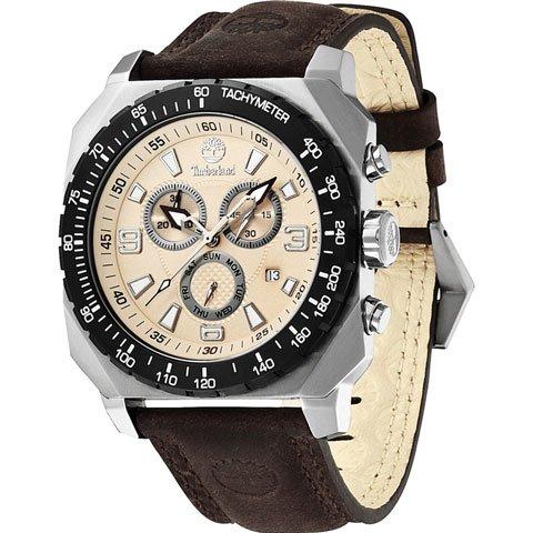 ティンバーランド 腕時計 ステーサム 13324JSTB/07 ベージュ×ブラウンレザーベルト