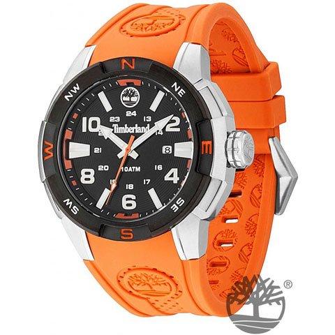 ティンバーランド 腕時計 オルタモント 13849JSTB/02 ブラック×オレンジシリコンベルト