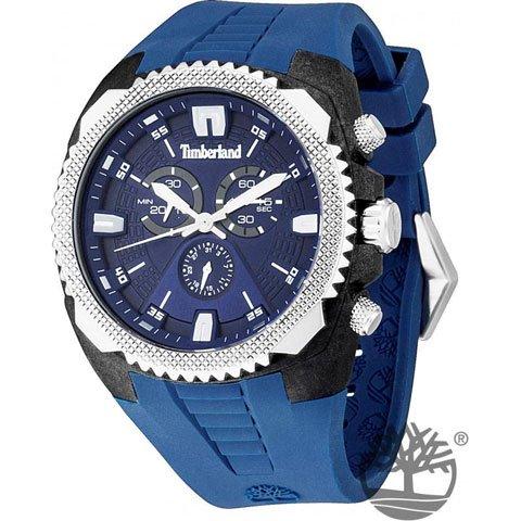 ティンバーランド 腕時計 ブリットン 13851JPBS/03 ブルー×ブルーシリコンベルト