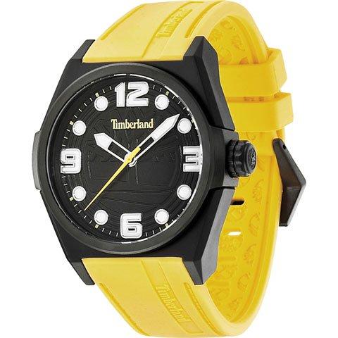 ティンバーランド 腕時計 ラドラー 13328JPB/02 ブラック×イエローシリコンラバーベルト