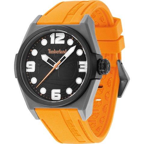 ティンバーランド 腕時計 ラドラー 13328JPGYB/02A ブラック×オレンジシリコンラバーベルト