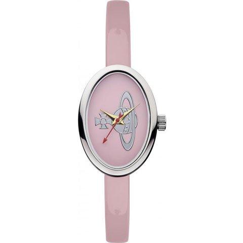 ヴィヴィアン・ウエストウッド 腕時計 メダル VV019LPK ライトピンク×エナメルレザーベルト