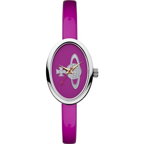 ヴィヴィアン・ウエストウッド 腕時計 メダル VV019PK ブライトピンク×エナメルレザーベルト
