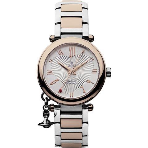 ヴィヴィアン・ウエストウッド 腕時計 オーブ VV006RSSL ローズゴールド×シルバー