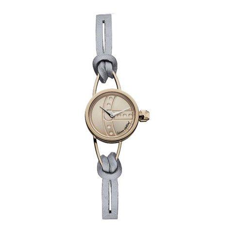 ヴィヴィアン・ウエストウッド 腕時計 チャンサリー VV081RSGY ローズゴールド×グレーレザーベルト