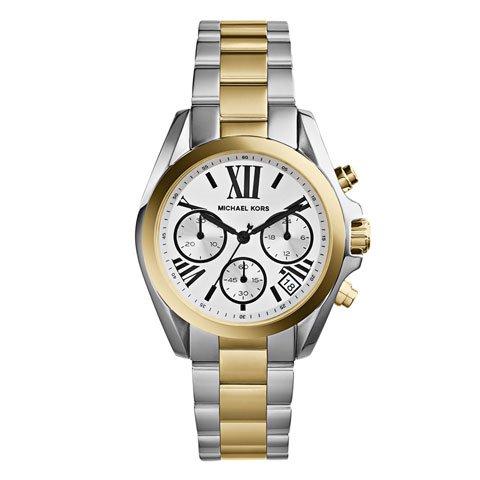マイケルコース 時計 ブラッドショー MK5912 ホワイト×ツートン