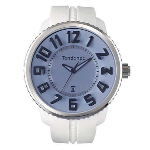 テンデンス 腕時計 ガリバーラウンド TD02043021 ホワイト×パープルガラス