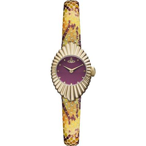 ヴィヴィアン・ウエストウッド 腕時計 コンサーティーナ VV096RDPP ディープパール×マルチカラー