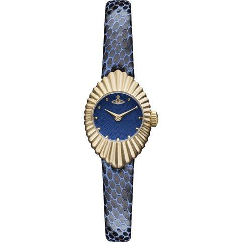 ヴィヴィアン・ウエストウッド 腕時計 コンサーティーナ VV096NVNV ディープブルー×ブルー