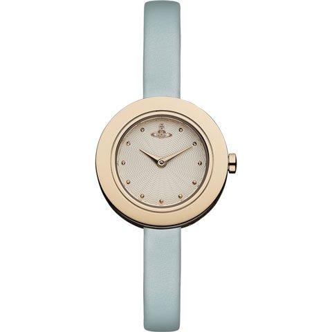 ヴィヴィアン・ウエストウッド 腕時計 エッジ VV097RSTQ ローズゴールド×ブルー