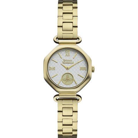ヴィヴィアン・ウエストウッド 腕時計 ウエストベリー VV101GD ホワイト×ゴールド