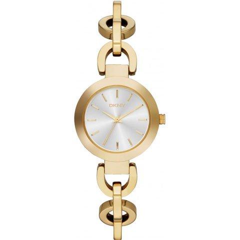 DKNY 腕時計 レディース NY2134 スタンホープ シルバー×ゴールド
