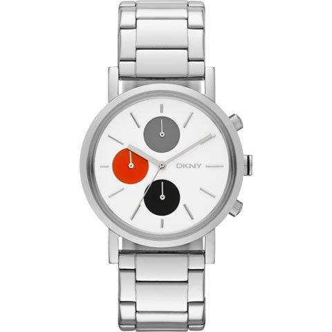 DKNY 腕時計 レディース NY2146 ソーホー ホワイト×シルバー