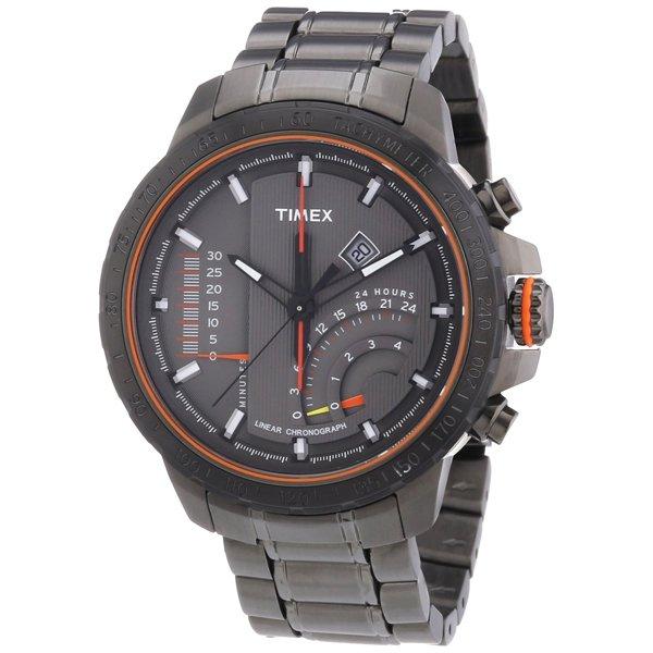 タイメックス 腕時計 リニアインディケーター T2P273 グレー×ガンメタル
