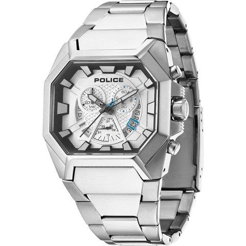 ポリス 腕時計 メンズ ハンター PL13837JS/04M シルバー×ステンレススチール
