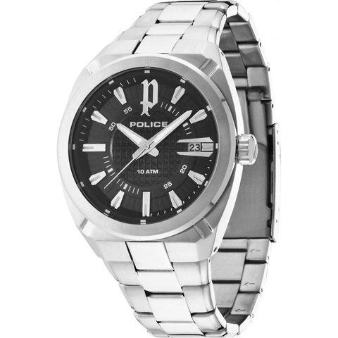 ポリス 腕時計 チェックポイント PL14101JS/02M ブラック×シルバー