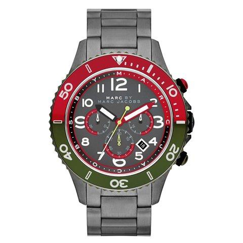 マークバイマークジェイコブス 腕時計 メンズ ロック MBM5056 ガンメタル