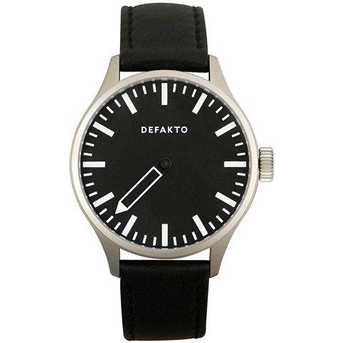 Defakto(ディファクト) 腕時計 アインズ 自動巻き ブラックPVD加工×ステンレススチール