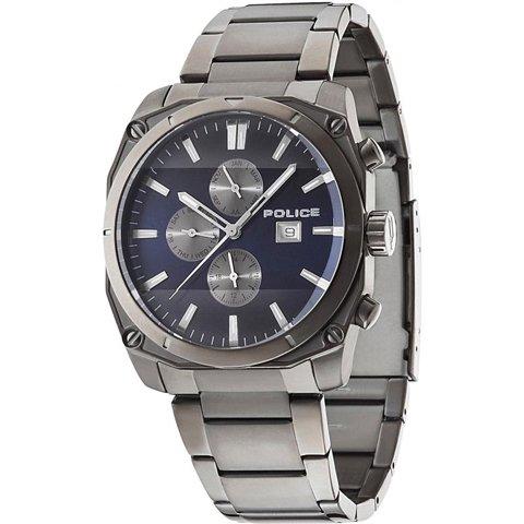 ポリス 腕時計 メンズ ミラノ PL14099JSU/03M ブルー×ステンレススチール