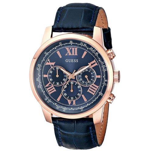 ゲス 腕時計 メンズ ホライズン W0380G5 ブルー×ブルー