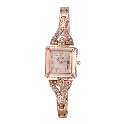 ゲス 腕時計 レディース フローレス W0137L3 ホワイト×ローズゴールド