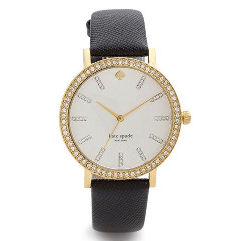 ケイトスペード 腕時計 1YRU0445 メトログランド ブラック