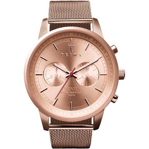 トリワ 腕時計 ネヴィル NEST106 ローズゴールド×メッシュベルト