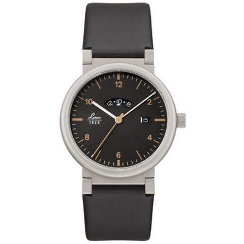 ラコ 腕時計 国内正規品 アブソルート クォーツムーブメント 880203 ブラック×ブラックラバーベルト