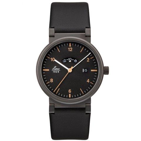 ラコ 腕時計 国内正規品 アブソルート クォーツムーブメント 880204 ブラックPVD×ブラックラバーベルト