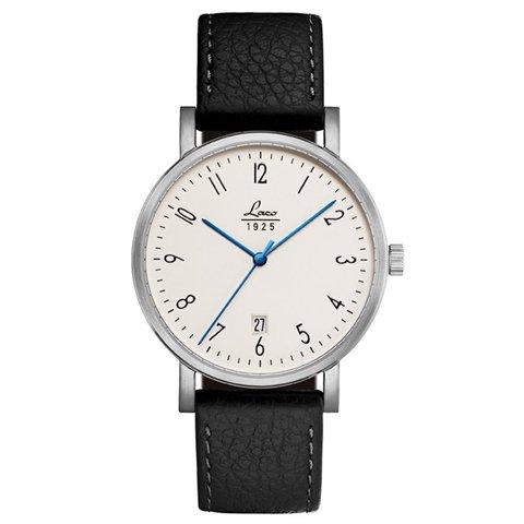 ラコ 腕時計 国内正規品 クラシック 861859 Laco04系手巻ムーヴメント ブラックカーフレザーベルト
