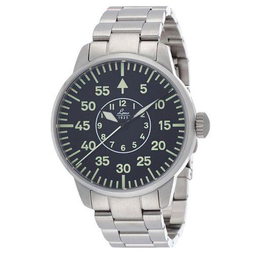 ラコ 腕時計 国内正規品 FARO 861891 Laco21系自動巻シリーズ ブラック×ステンレススチールベルト