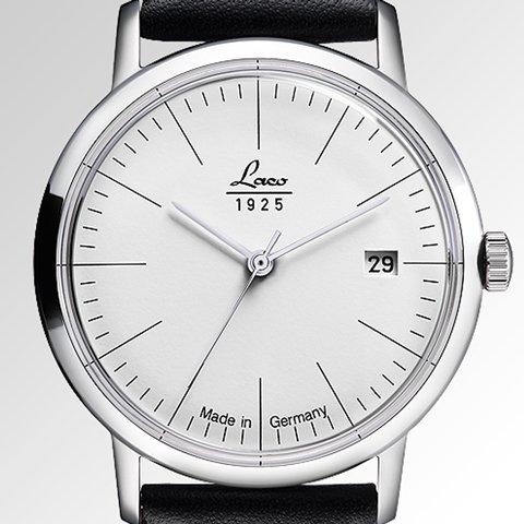 ラコ 腕時計 国内正規品 ヴィンテージ 861837 Laco15系自動巻ムーヴメント ブラックレザーベルト