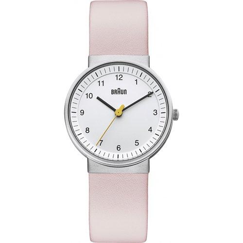 ブラウン|Braun 時計/BN0031WHLPKL/ホワイト×ピンクレザーベルト