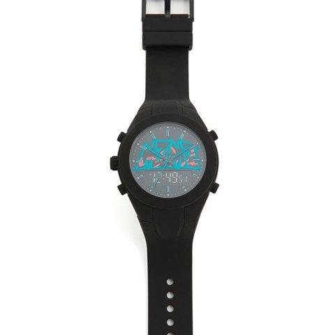 マークバイマークジェイコブス 腕時計 メンズ MBM5532 デジタルウォッチ ブラック