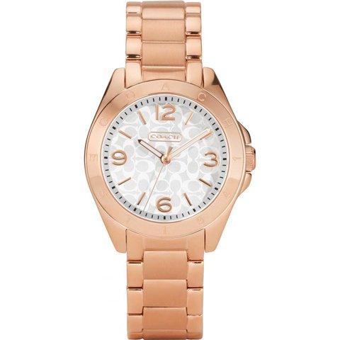 コーチ 腕時計 トリステン 14501780 シルバー×ローズゴールド